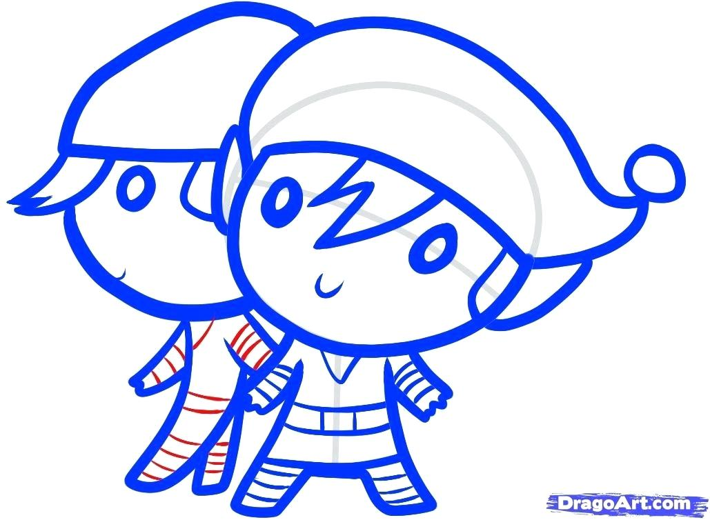 1029x754 how to draw a elf how to draw elves elves step how to draw elf