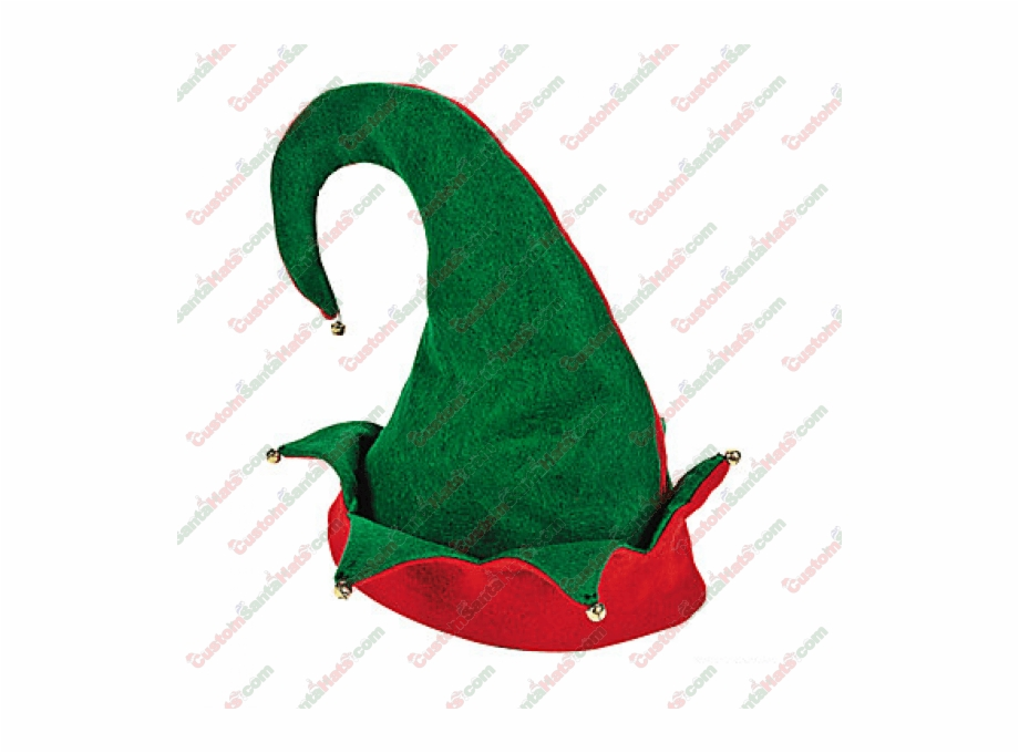 920x680 Elf Hat Double Layer Green Red