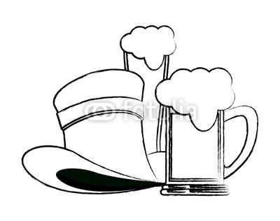 400x316 Elf Hat With Beers Sketch Buy Photos Ap Images Detailview