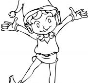 181x170 Free Printable Elf Coloring Pages Intricate On The Shelf For Kids