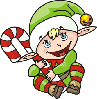 334x340 Santa Claus Christmas Elf The Elf On The Shelf Drawing Cc0