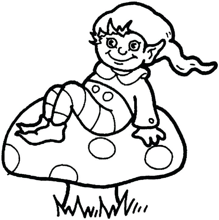 720x723 elf coloring buddy the elf drawing at free for personal use elf