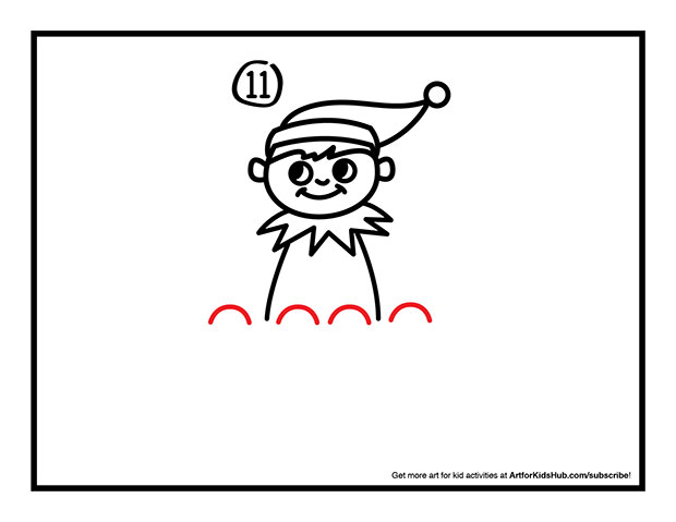 620x479 How To Draw The Elf On The Shelf How To Draw An Elf On A Shelf