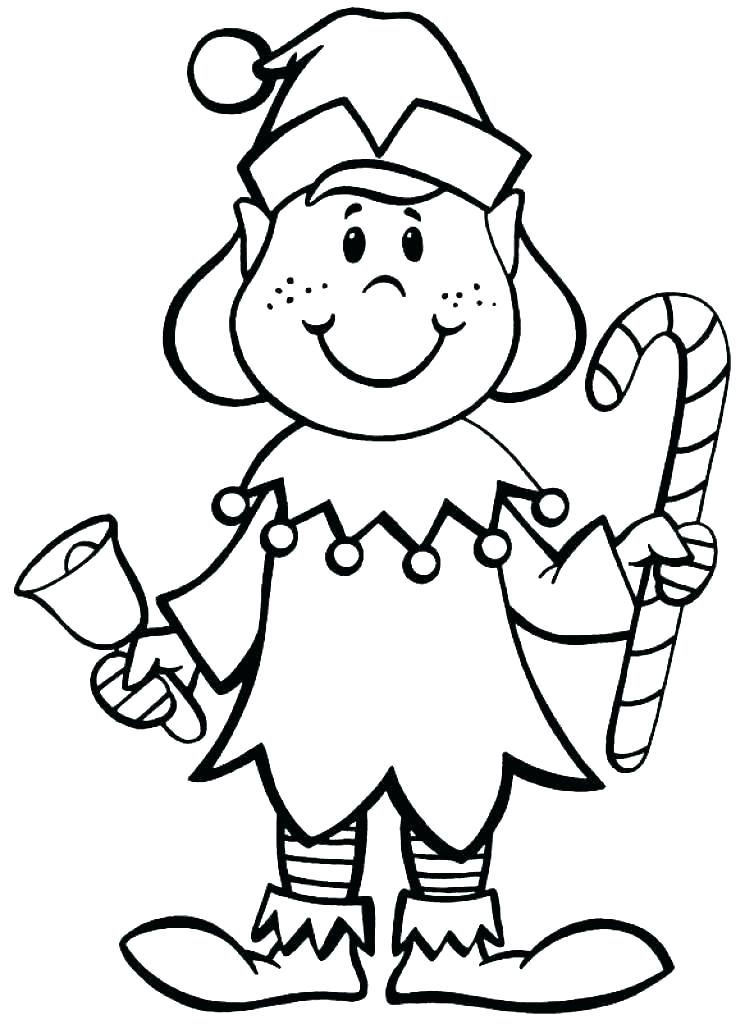 754x1024 Coloring Pages Elf Coloring Pages Girl
