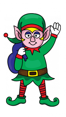 215x382 Drawing Elf Transparent Png Clipart Free Download