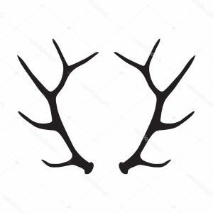 300x300 elk antler silhouette clipart elk deer antler ydpnu soidergi