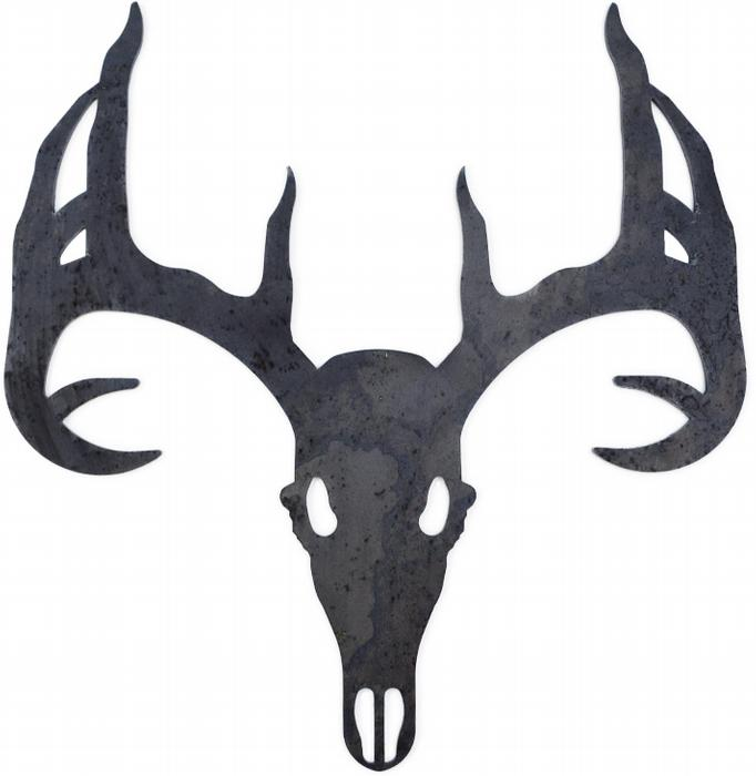 682x700 Collection Of 'elk Skull Silhouette' Download More Than Images