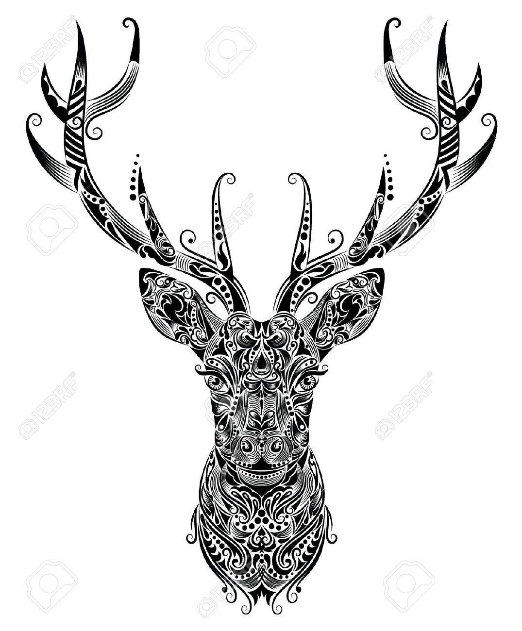1075x1300 Collection Of Free Elke Clipart Elk Skull Download On Ui Ex