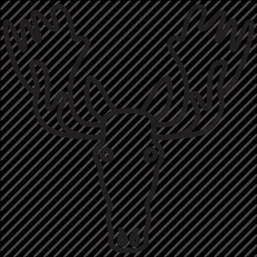512x512 Elk Head Transparent Png Clipart Free Download