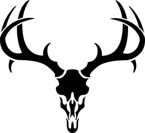 300x274 Elk Skull Clipart Collection