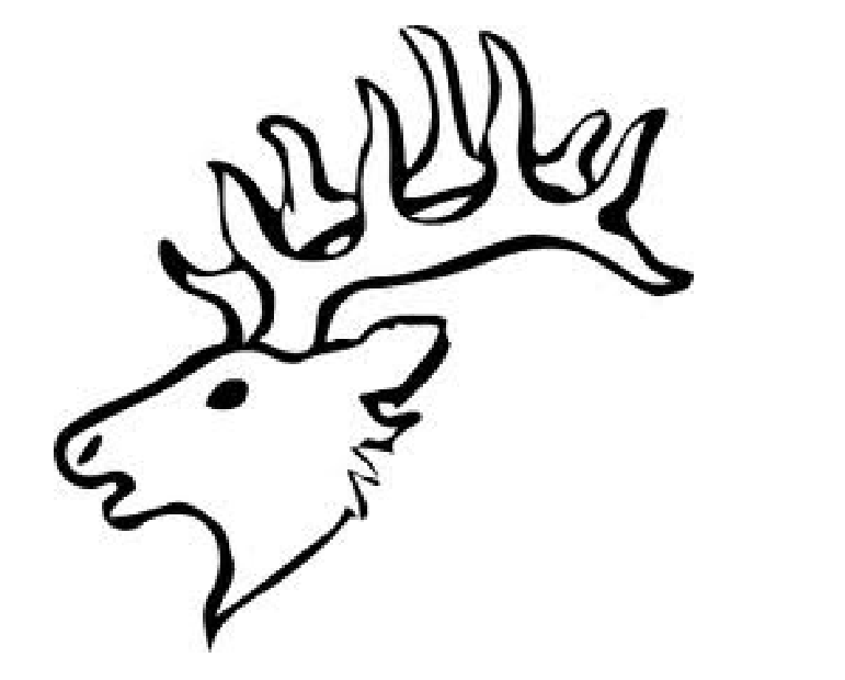 771x620 Elk Head Pattern Charles Projects Deer Coloring Pages, Animal