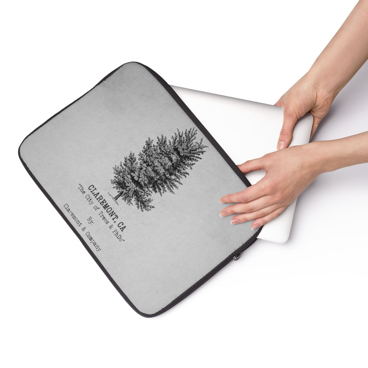 1200x1200 claremont elm tree, laptop sleeve dolce blossom boutique