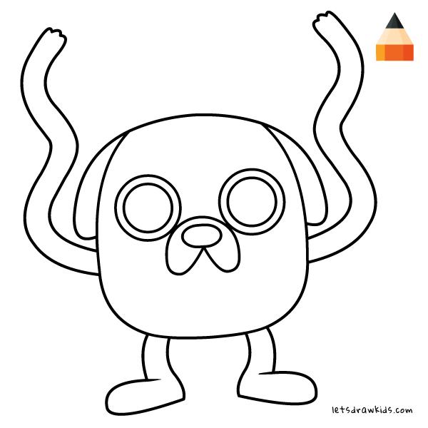 Elmo Cartoon Drawing