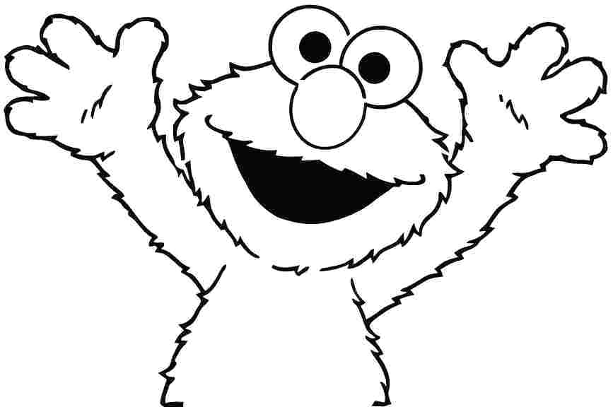 867x576 elmo coloring pictures coloring colouring pages free elmo coloring