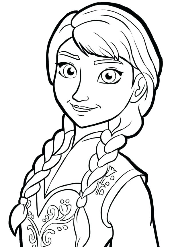 600x861 anna frozen drawing how to draw from frozen frozen drawings elsa