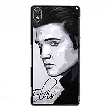 385x385 hard plastic phone case sony xperia phone case elvis presley
