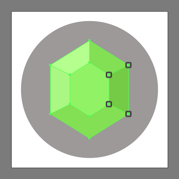 586x586 Emerald Gemstone Icon Adobe Illustrator Tutorial