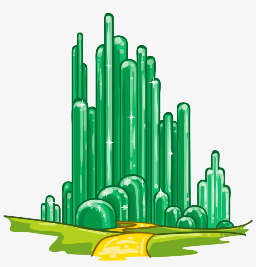 820x854 Graphic Free Emerald City Clipart