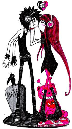 278x500 Drawing Emos Long Hair Huge Freebie! Download For Powerpoint