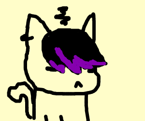 300x250 Emo Teenage Garfield