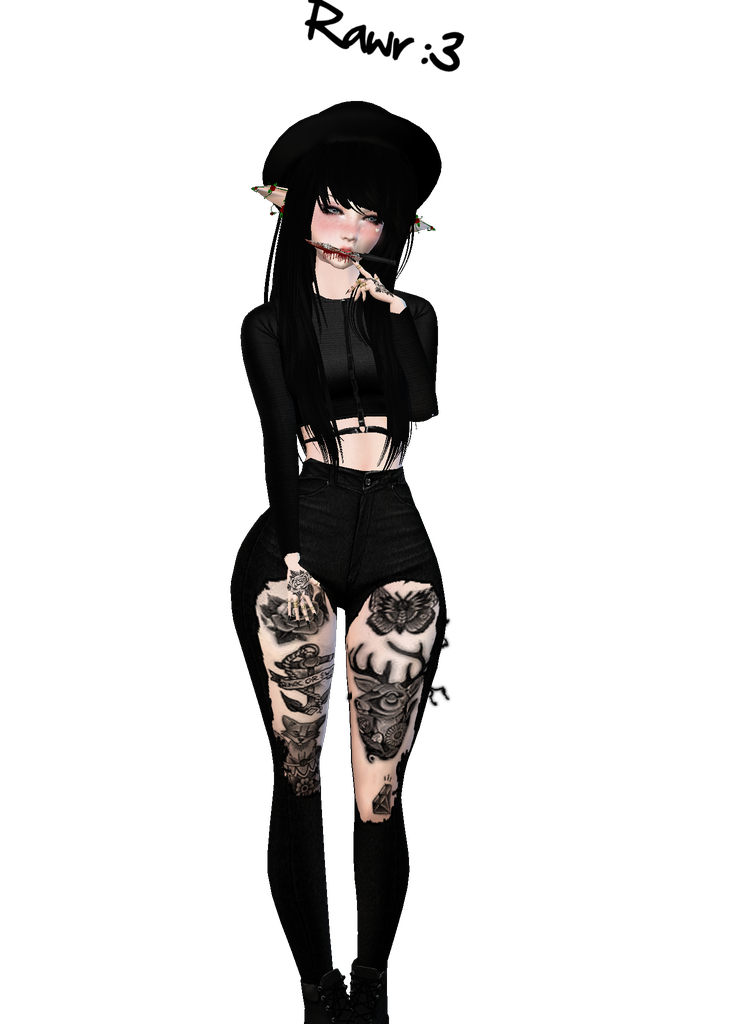 744x1024 Outfit Drawing Emo Huge Freebie! Download For Powerpoint