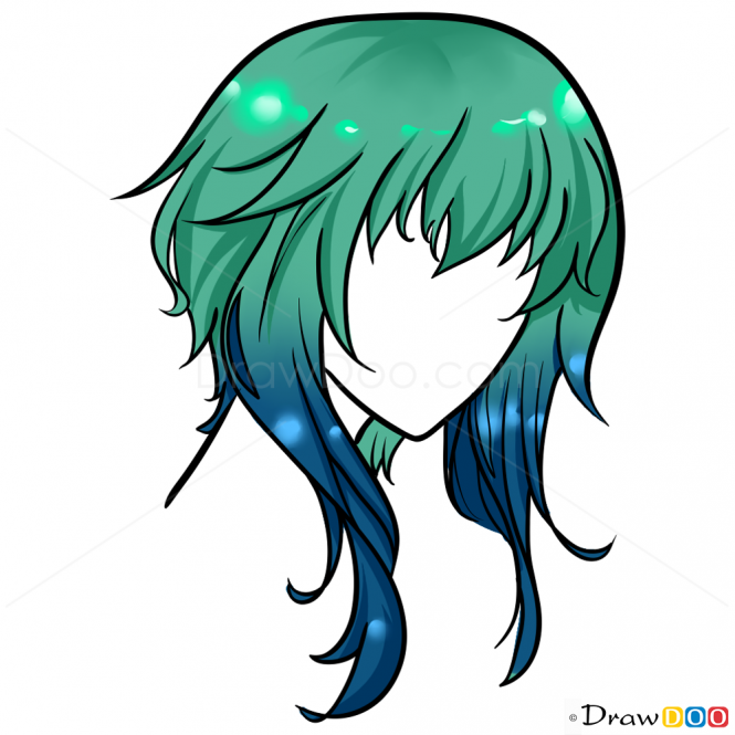 665x665 Albums Of Anime Hair Drawing Explore Thousands Of New Braids