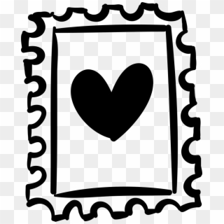 320x320 Stamp With Heart Drawing Comments