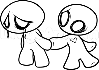 320x225 Easy Love Drawings For Him How To Draw Emo Step
