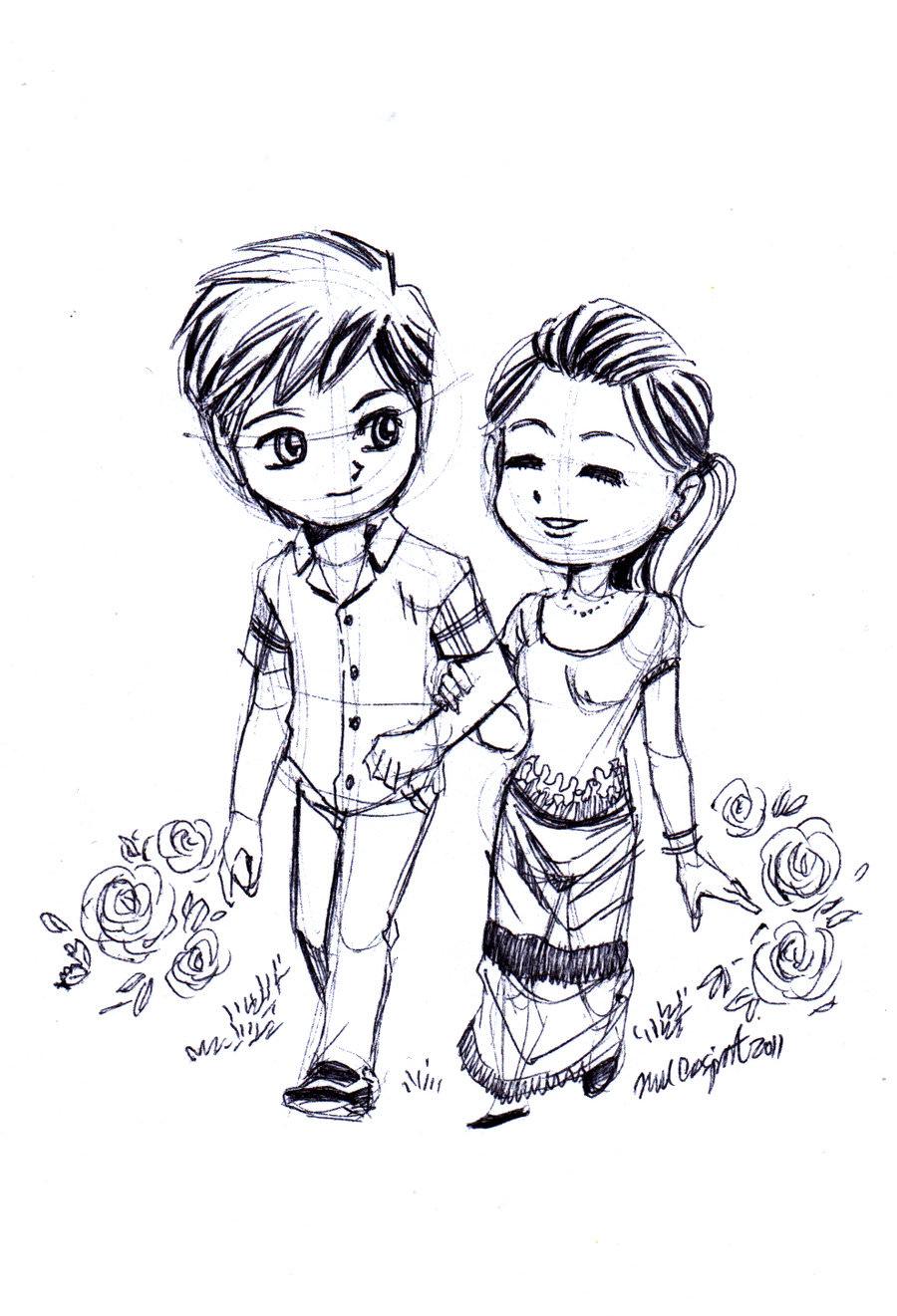 900x1321 Love Drawings