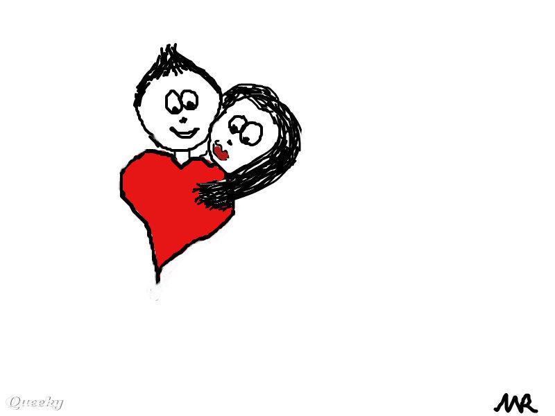 800x600 Emo Love Heart Drawings