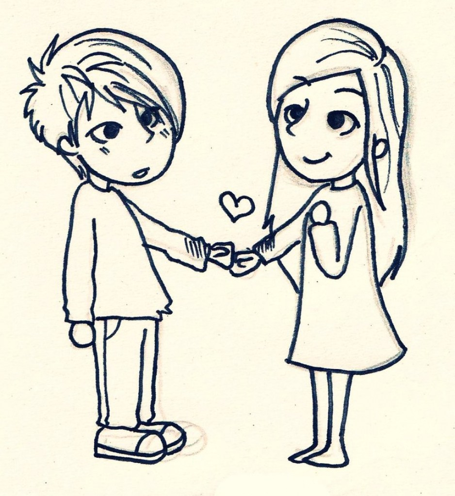 938x1024 Cute Easy Love Drawings