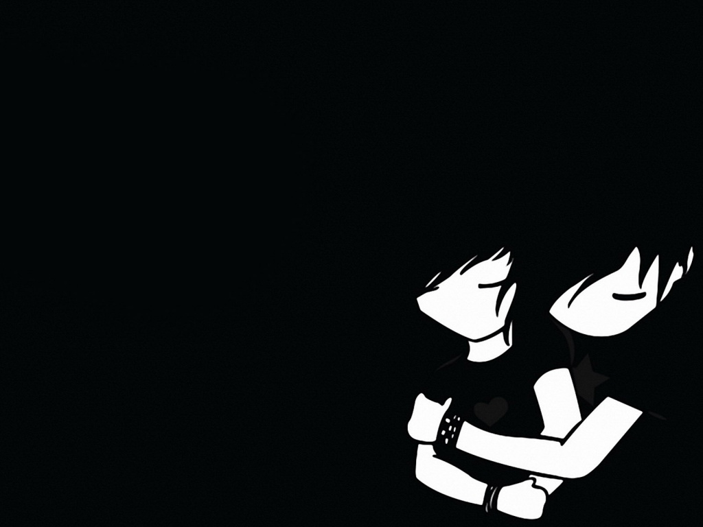 1024x768 Cute Emo Backgrounds