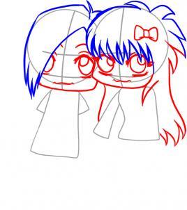 268x302 Draw Emo Love, Step