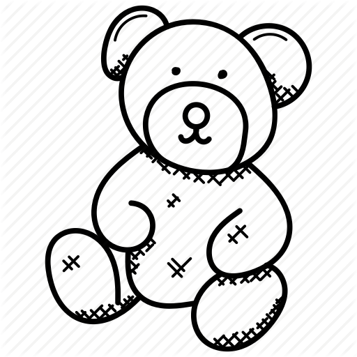 512x512 Collection Of Free Valentines Drawing Teddy Bear Download On Ui Ex