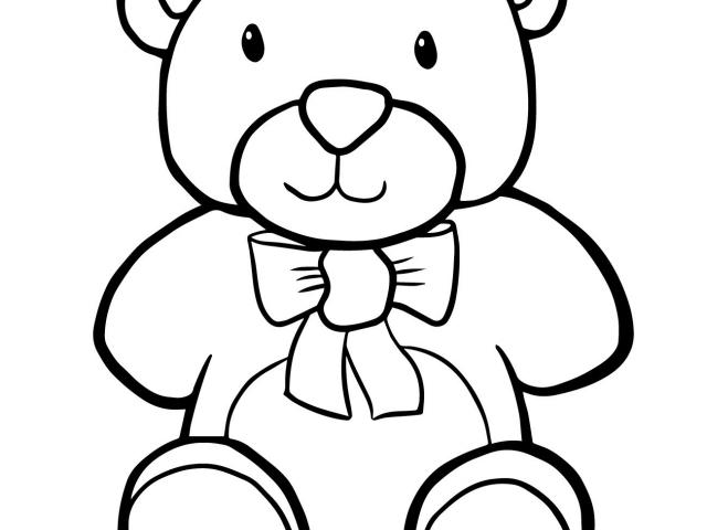 640x480 Free Drawn Teddy Bear, Download Free Clip Art