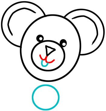 350x366 Step How To Draw Teddy Bears With Easy Step