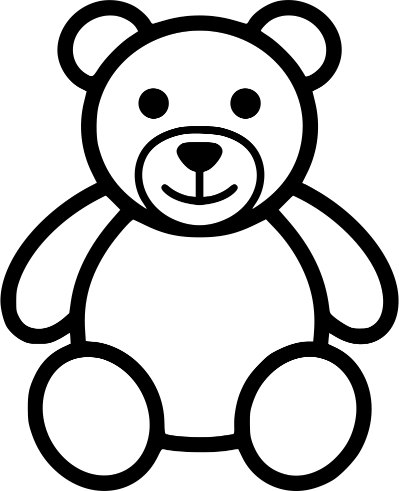 798x980 Collection Of Free Goth Drawing Teddy Bear Download On Ui Ex