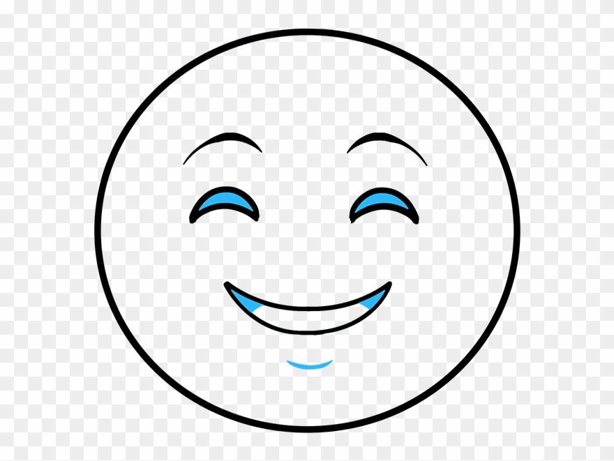 880x661 How To Draw Happy Face Emoji