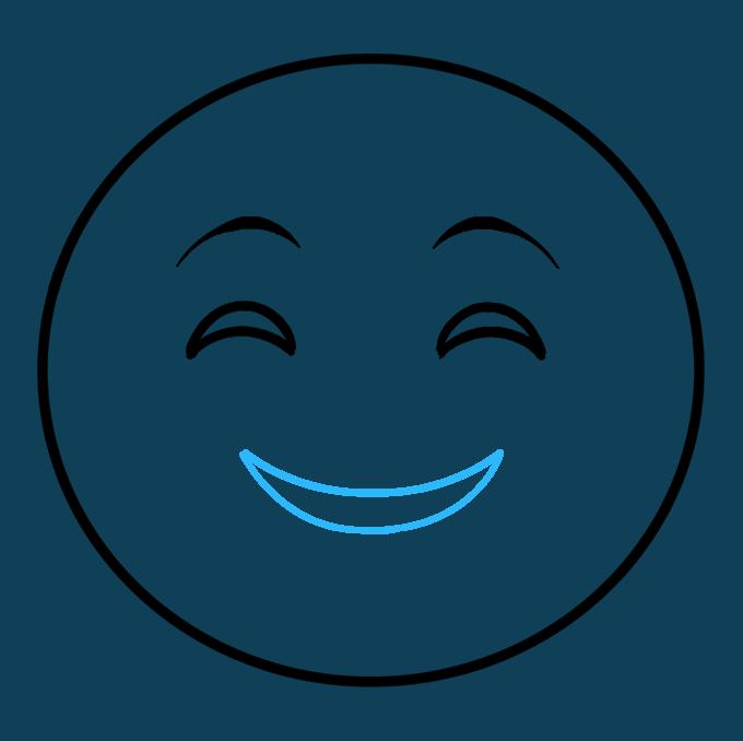 680x678 How To Draw Emojis Happy Emoji
