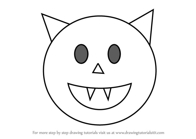 800x567 Learn How To Draw Halloween Emoji