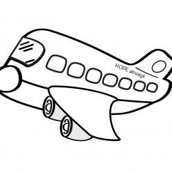 250x250 Airplane Emoji Drawing Crash An Easy Black Aeroplane For Kid Step