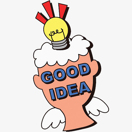 500x500 a good idea an emphasis on symbolic illustration, good idea, good