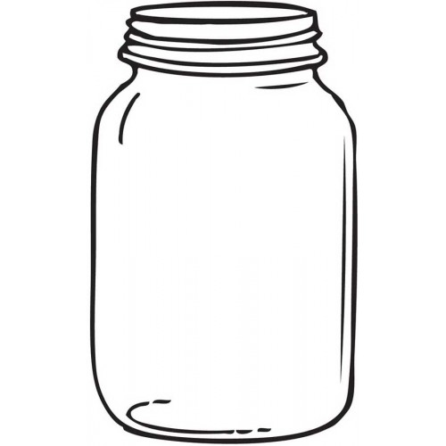 500x500 free empty mason jar clipart, download free empty mason jar clip