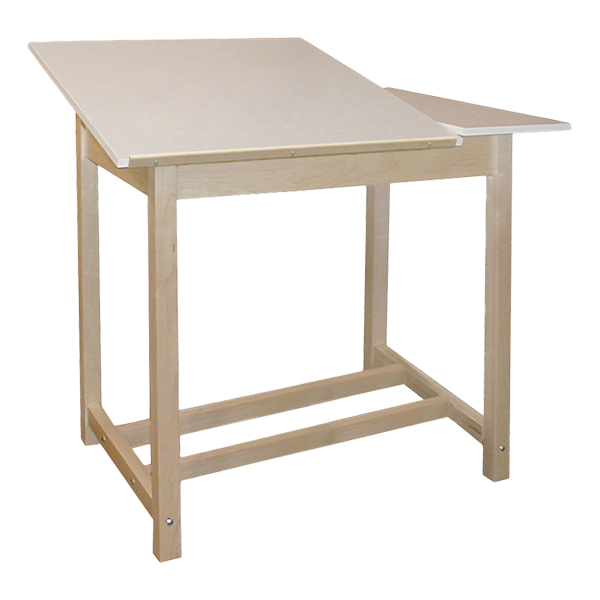 600x600 Hann Manufacturing Split Top Drawing Table