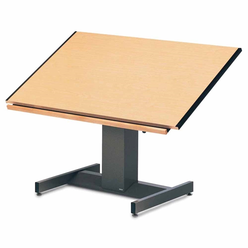 800x800 Mayline Futur Matic Drawing Table X L Affordable