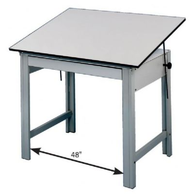 400x400 Designmaster Office Height Drawing Table