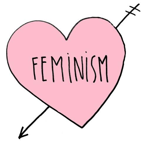 500x497 Drawing Cute Equality Heart Pink Lgbtq Feminist Feminism