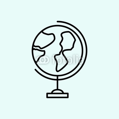 400x400 Equality, Earth Globe, Sign Icon Element Of Feminism For Mobile