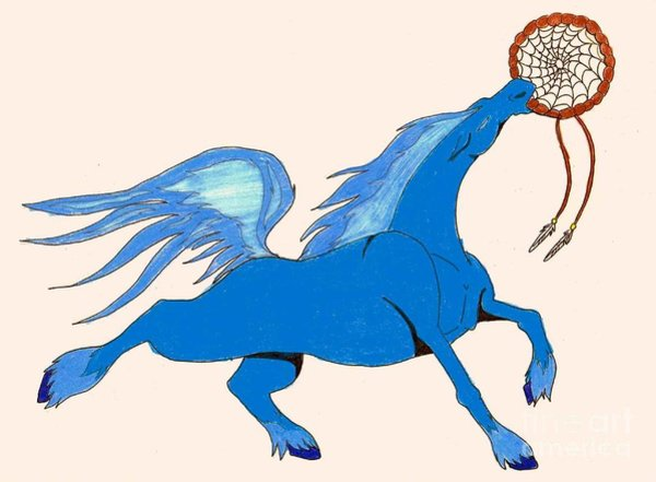 600x441 Spirit Horse Drawings