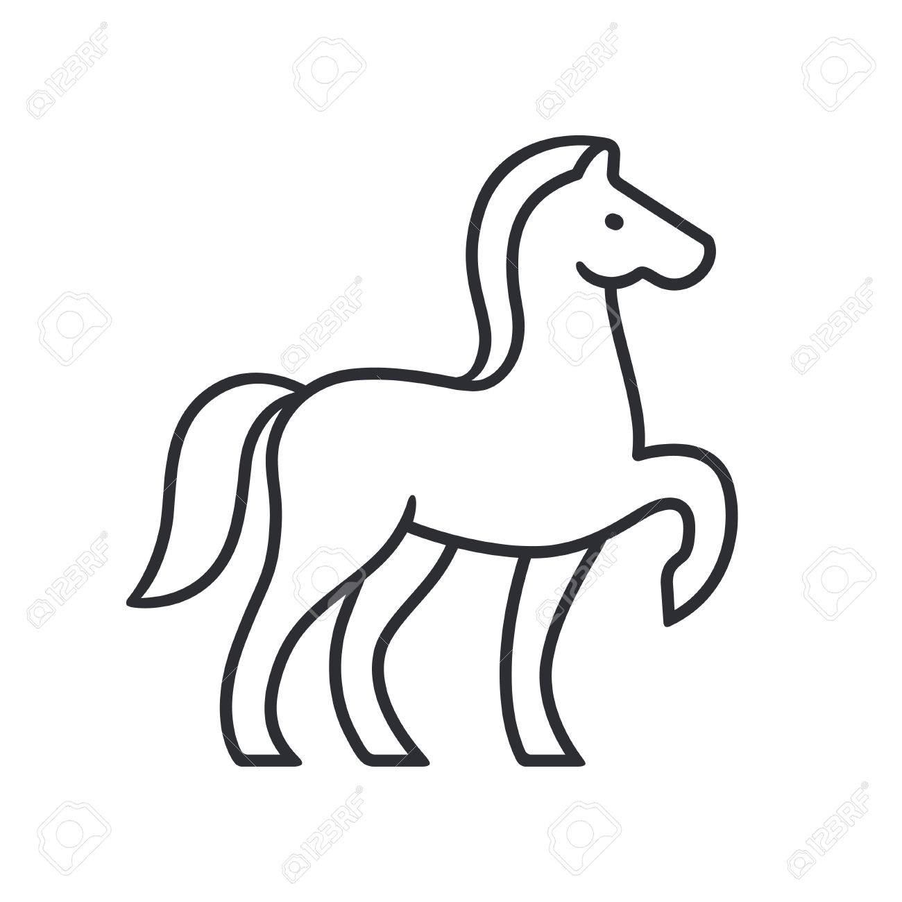 1300x1300 Horse Silhouette Outline Jumping Horse Outline Free
